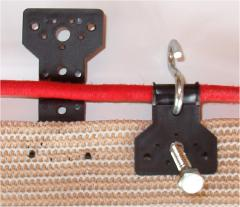 Specifically Made For Shade Netting   Plastic Locking Clip Fasteners