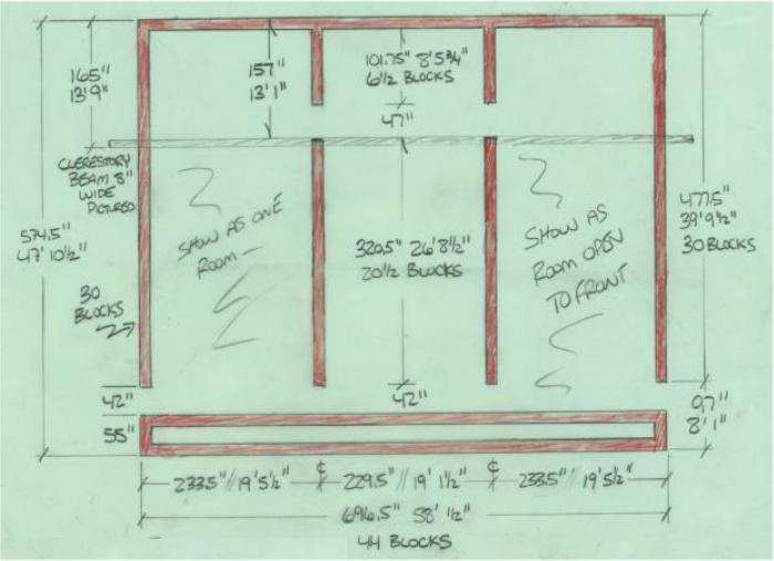 Sample htm open floor plans with discussion of your many for Greenhouse floor plans
