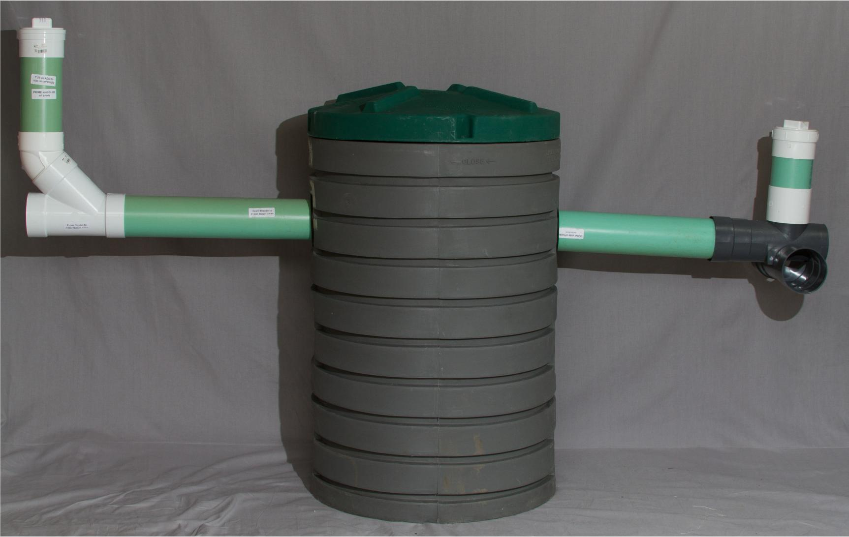 Septic Tank Filter Basin For Sewage Settling Basin